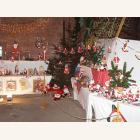Bilder von der Nikolausausstellung und dem Verkaufsstand am Weihnachtsmarkt in Amorbach